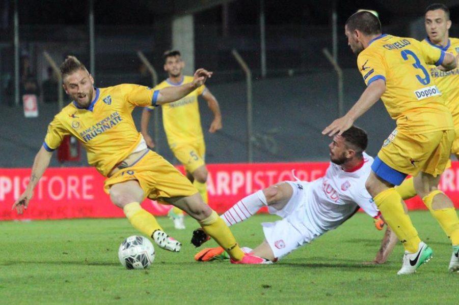 Il frosinone avvicina la finale di g lanzi for Trento frosinone