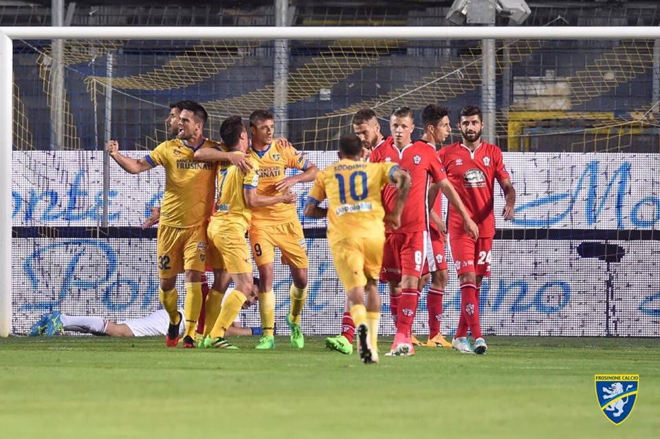 Il frosinone ai playoff di g lanzi for Trento frosinone
