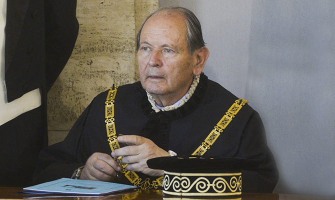 Consulta, Giorgio Lattanzi eletto presidente