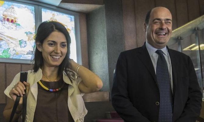 Zingaretti vede Raggi in Campidoglio, primo incontro dopo il voto