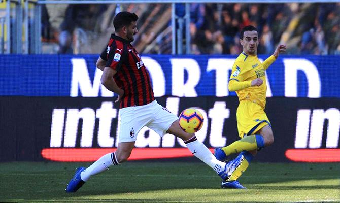 Frosinone-Milan, solo il Var dice no – AlessioPorcu.it