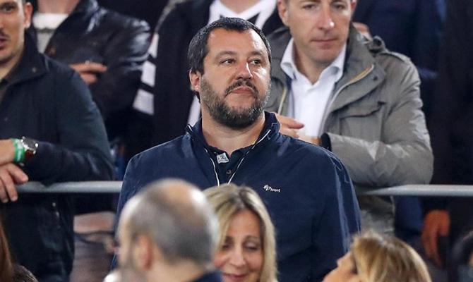 E Salvini fece l'accredito per lo stadio di Frosinone ...