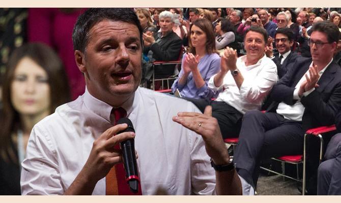 Matteo renzi cita frosinone tre volte al tempio di adriano for Trento frosinone
