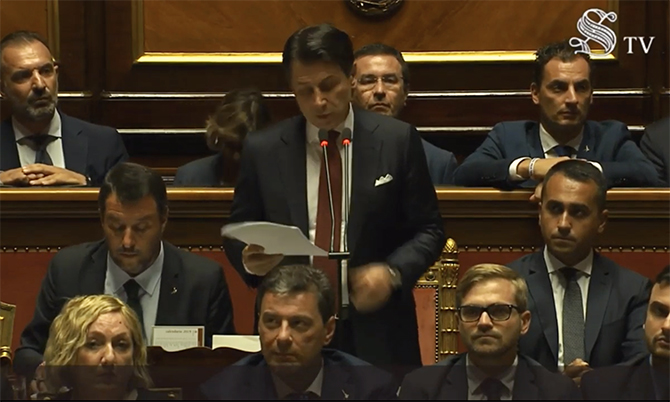 Renzi lancia la sfida elettorale a Salvini
