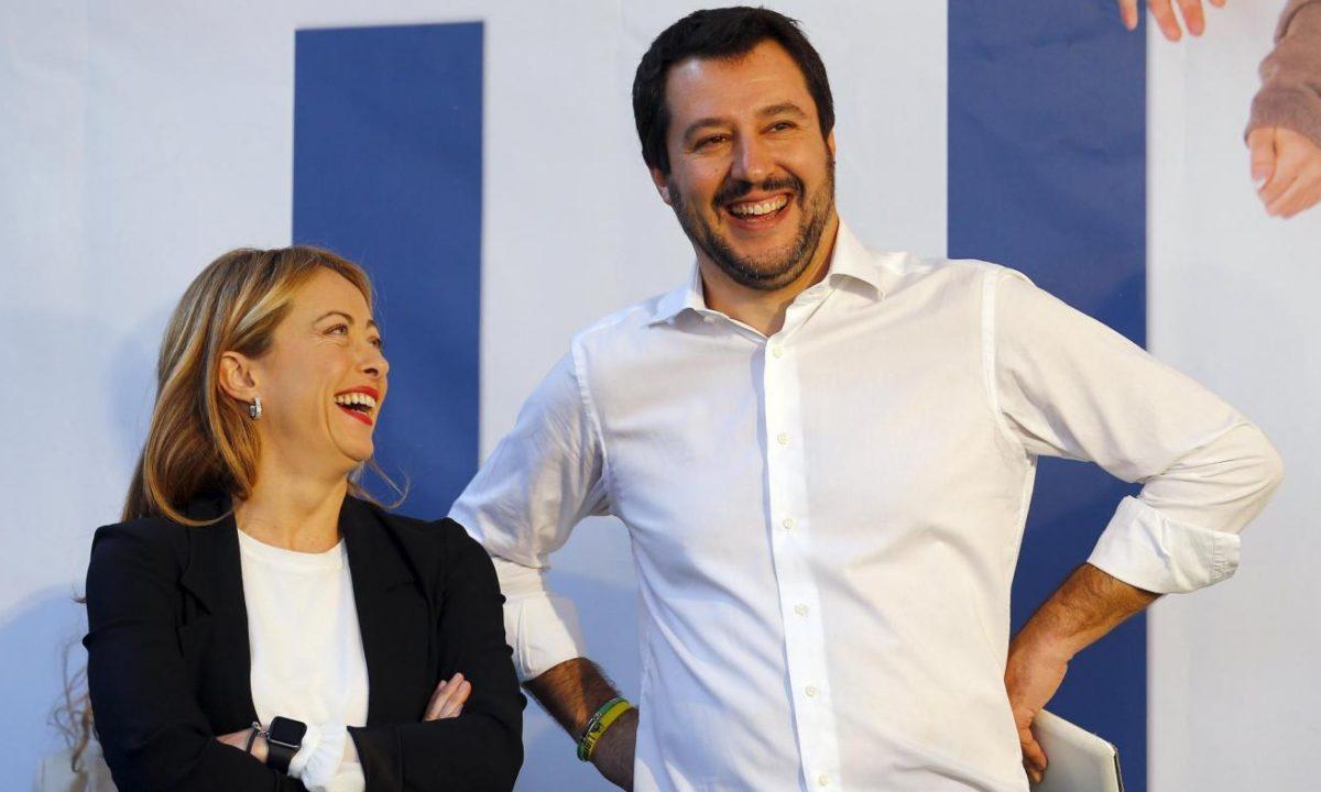 """Risultato immagini per Salvini e Meloni immagini"""""""