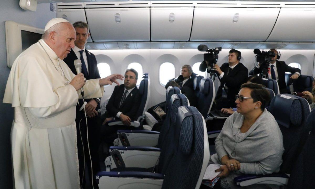 VATICANO - Papa Francesco: io amo la Cina, mi piacerebbe andare a Pechino